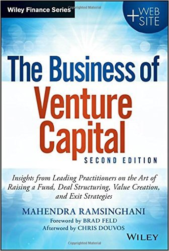 The Business of Venture Capital Book Ramsinghani_