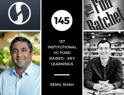 Semil Shah Full Ratchet First Institutional VC Fund Raised