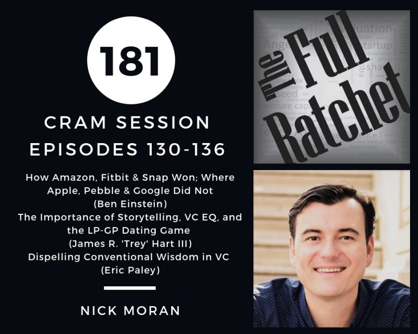 181. Cram Session, Episodes 130-136 (Nick Moran)