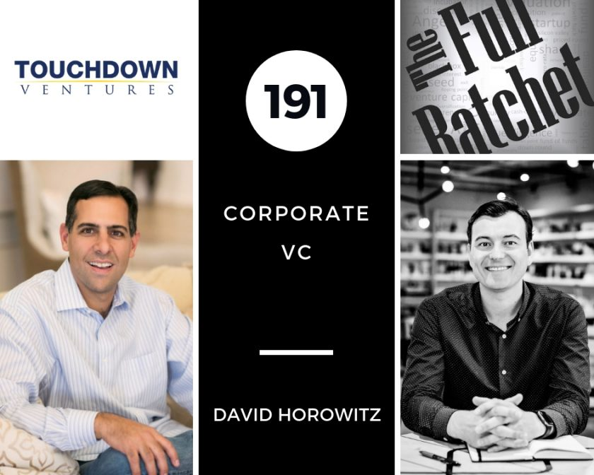 191. Corporate VC (David Horowitz)