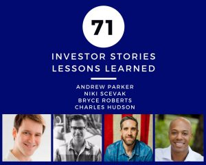 Lessons Learned Andrew Parker Niki Scevak Bryce Roberts Charles Hudson