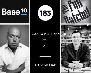 183. Automation vs. AI (Adeyemi Ajao)