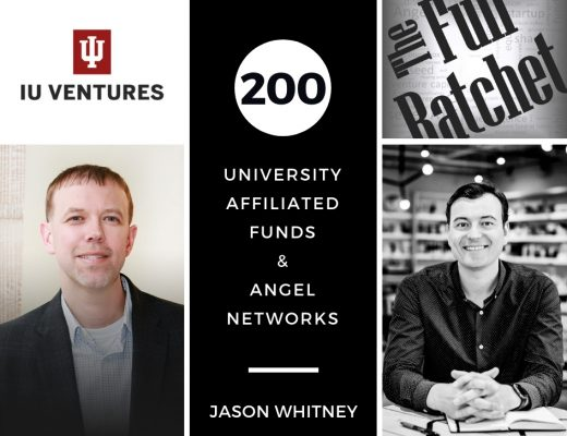 200. University-Affiliated Funds & Angel Networks (Jason Whitney)