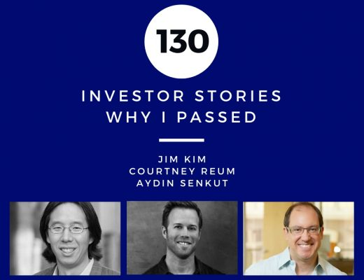 Investor Stories 130: Why I Passed (Kim, Reum, Senkut)