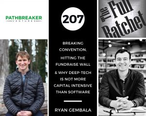 207. Breaking Convention, Hitting The Fundraise Wall & Why Deep-tech Is Not More Capital Intensive Than Software (Ryan Gembala)