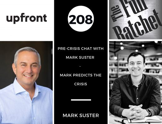 Pre-Crisis chat w/ Mark Suster - Mark Predicts the Crisis