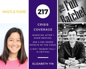 """217. Crisis Coverage w/ Elizabeth Yin - Investing After 1 Zoom Meeting, 2nd & 3rd Order Effects of The Virus, and Why """"Market Pull"""" is Critical"""