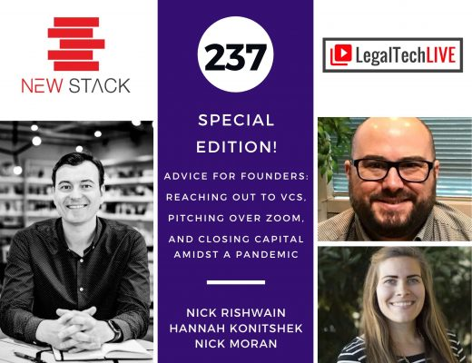 237. Advice for Founders -- Reaching out to VCs, Pitching over Zoom, and Closing Capital Amidst a Pandemic (Nick Rishwain, Hannah Konitshek, Nick Moran)