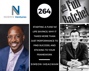 Simeon Iheagwam of Noemis Ventures