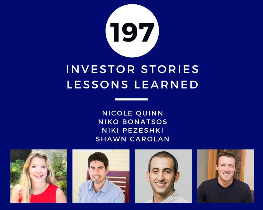 Investor Stories 197 Lessons Learned (Quinn, Bonatsos, Pezeshki, Carolan)