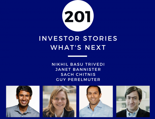 Investor Stories 201 What's Next (Basu Trivedi, Bannister, Chitnis, Perelmuter)